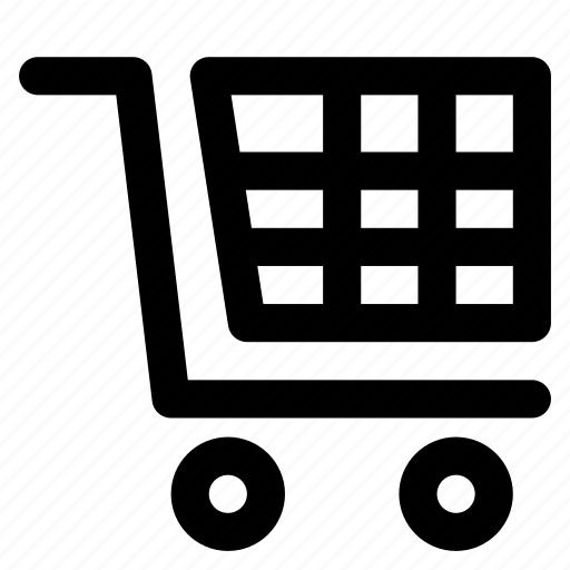 cart, move, shopping, trolley icon