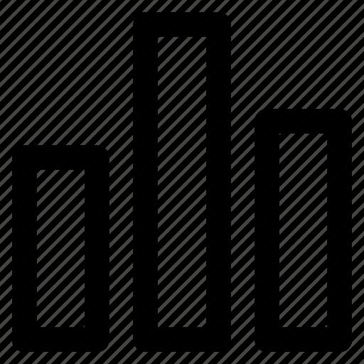 bar, chart, graph, stat, statistics icon