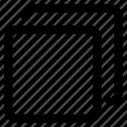 album, copy, element, square, tile, window icon