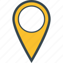 address, destination, location, map, pin icon