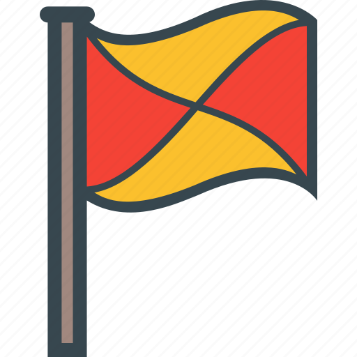 alert, banned, country, flag, important, surrender, warning icon