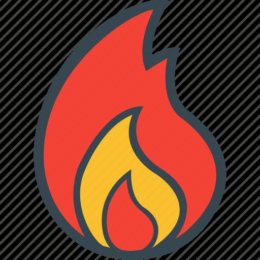 burn, fire, flame, heat, temperature icon