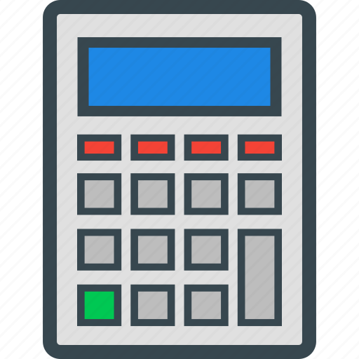 calculation, calculator, math, mathematics, numbers icon