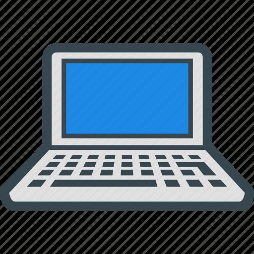 computer, device, internet, laptop, netbook icon