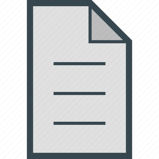 archive, document, file, letter, new icon