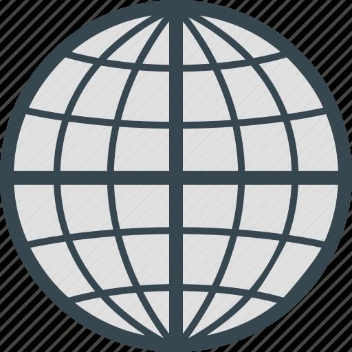 earth, global, globe, international, internet icon