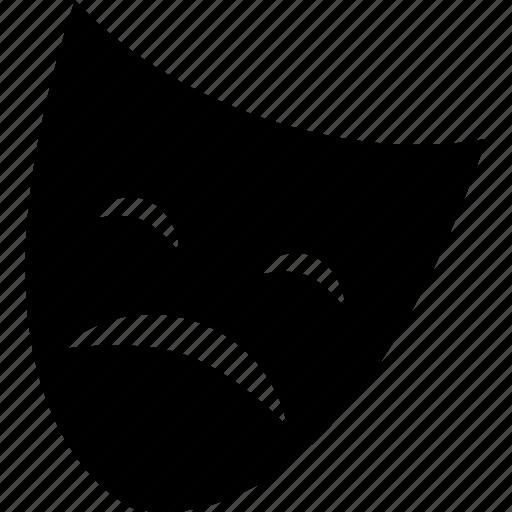 Drama, mask, sad, theater icon - Download on Iconfinder