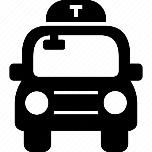 cab, taxi, taxicab, transportation, travel icon