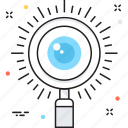 magnifier, magnifying, monitoring, view, vision icon