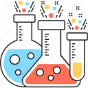chemistry, conical flask, flask, laboratory, research icon