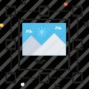 content, designing, image selection, landmark, selection icon