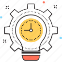 cogwheel, creative production, production, productivity, settings icon