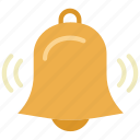 alarm, alert, bell, notification, ring, time, timer icon