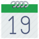 calendar, date, day, month, schedule, time, year icon