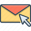 communication, email, envelope, marketing, message, newsletter, subscribe icon