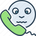 say, conversation, sound, telephone, speak, talk, tell icon