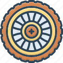 automobile, car, circle, gyre, repair, transportation, wheel