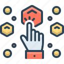 choose, collecting, options, pick, selection icon