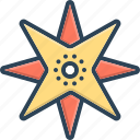 compass, direction, northern, septentrional icon