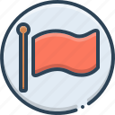 banner, ensign, flag, fontawesome icon