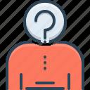 anonymity, mysterious, suspicious, unknown, unrecognizable icon