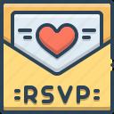 message, invitation, card, template, rsvp