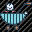 baby stroller, child, cradle, infant, newborn, pram, progeny