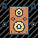 amplifier, bass, electronic, entertainment, loud, music, speaker