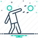 action, discus throw, game, player, shot put, sport, throw