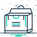 box, pack, packing, parcel, shipping, store icon
