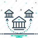 architecture, bough, branch, division, house, offshoot, subdivision icon