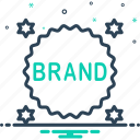 brand, label, product, quality, stamp, sticker, variety