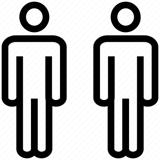 avatars, dummy, men, men silhouette, people, persons, users icon