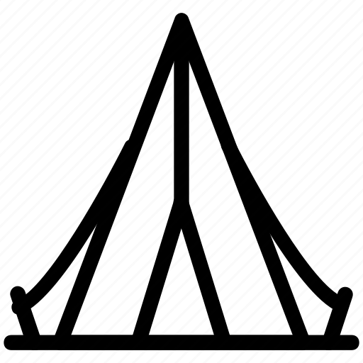 beach tent, camp, camping, camping tent, tent, tent house icon