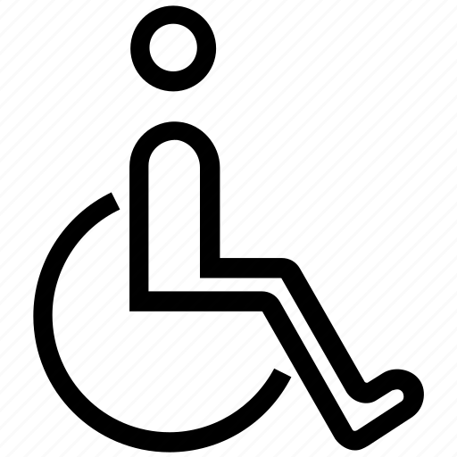accessibility, disability, disabled, handicap, wheel chair, wheelchair icon