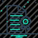 achievement, certificates, document, licensing, voucher icon
