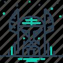 norse, odin, supreme, topmost icon