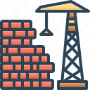 build, building, construction, manufacture, production icon