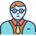 advisor, connoisseur, expert, specialist icon