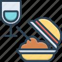 comestible, eatable, edible, food, glass, meal, pabulary