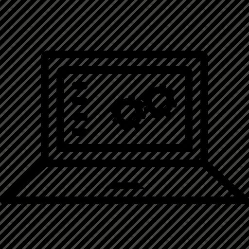 digital, function, management, setting, softwear, technology icon