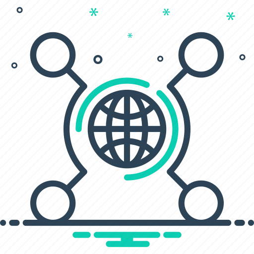 connectivity, digital, internet, networking, technology icon