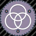 alphabe, ancient, circle, germanic, logo, runes, symbole icon