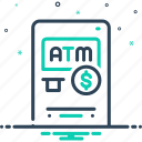 advantage, atm, benefits, gain, mileage, perks, profit icon