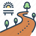 paths, road, pathway, direction, highway, avenue