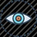 visible, vision, sight, view, eyeball, optical, eyesight