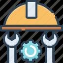 appliance, engineer, machinist, manipulator, tool icon