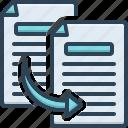 copy, duplicate, replicate, paste, share, document, sharing