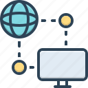 ping, connection, network, page, png, website, computer icon