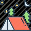 camping, adventure, leisure, tent, lodgement, pavilion, camp